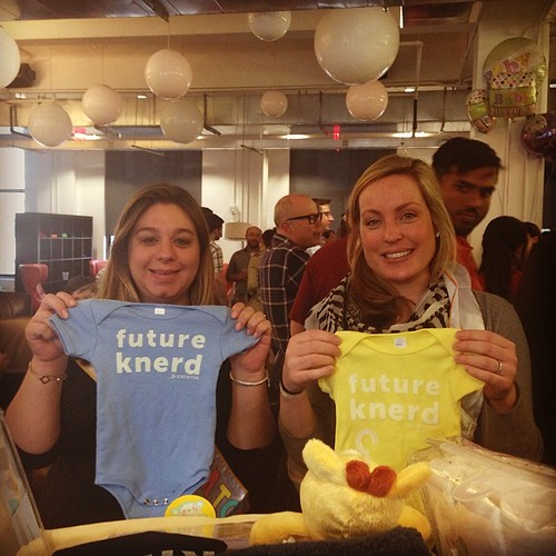 April showers bring May babies! Thanks to the #knewton team for some lovely gifts :)