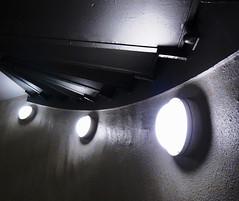 Die Drei (Codos Traumreisen) Tags: 3 three dortmund dunkel drei lampen florianturm dsctx10