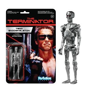 FUNKO X SUPER7 ReAction 系列【魔鬼終結者】Terminator  3.75吋 吊卡作品