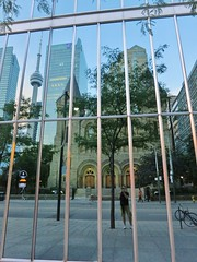 IMG_3206 (TOrebelXTguy) Tags: summer toronto reflection cntower selfie 2014
