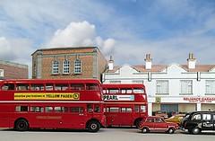 In traffic..... (kingsway john) Tags: london scale model transport models card oxford routemaster kit oo gauge diorama kingsway diecast 176
