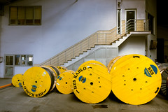 20150204 Turkey DSC02401.jpg (PowderPhotography) Tags: metal drums factory sony angles visit cables copper february aluminium 2015 rx100