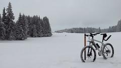 wieder Winter (twinni) Tags: winter salzburg bike austria sterreich mtb 20 biketour xtr shimano heuberg 960 bergziege winterbike flachgau mw1504 25012014