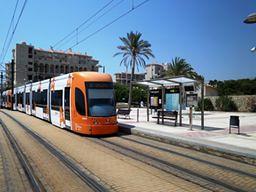 Parada 'Fabraquer' Línea 3 del Tram Alicante Dénia