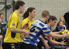 BW_Dalto_150207_39_DSC_6006 (RV_61, pics are all rights reserved) Tags: amsterdam korfbal blauwwit dalto korfballeague robvisser rvpics blauwwithal