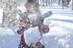(jayliho) Tags: city winter girls shadow people snow cold ice boston women downtown massachusetts snowstorm snowball mass wonderland blizzard bostoncommon juno winterwonderland