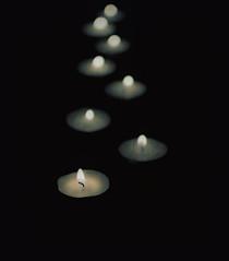 Tea lights (Lo8i) Tags: fire lights tea flame stardust odc flickrlounge weeklythemeweek18~fireorflame