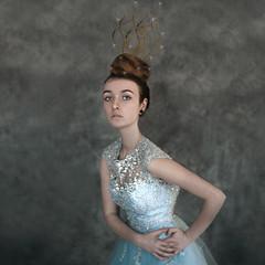Bluebelle ('_ellen_') Tags: blue ireland portrait fashion ellen high dress princess end editorial crown bluebell thornes mcdermott bluebelle