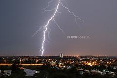 Playing With Light (KIMI KANTA) Tags: longexposure nightphotography rain canon lens aperture shoot slow nightscape nightshot flash malaysia shutter thunderstorm nightscene nightview 20mm lightning dslr heavy mycountry nightpanorama smallaperture