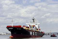 r_160519320_whcedu_a (Mitch Waxman) Tags: newyorkcity newyork newjersey ship cargo tugboat moran bayonnebridge workingharborcommittee educationtour portelizabethnewark