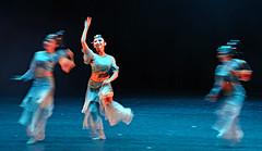 Chinese Classic dance    (MelindaChan ^..^) Tags: music dance conservatory mel melinda shenyang tripleexposure chineseclassicdance chanmelmel melindachan