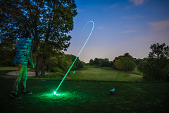 Hook (Evan's Life Through The Lens) Tags: camera blue friends light summer sky orange hot color green glass beautiful grass club night work canon ball golf lens photo warm long exposure walk vibrant sony country illumination course adventure job f28 2016 2470mm a7s