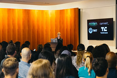 May 2016  Sarah Lane (CreativeMornings/LosAngeles) Tags: california inspiration sarah breakfast design la losangeles los jon comic angeles furniture creative miller lane showroom herman reality series mornings create lecture inspire con lacm setzen cmla creativemornings cmreality