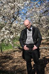 gary (jojoannabanana) Tags: portrait people tree spring bokeh profile blooms
