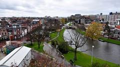View of Leiden (Michiel2005) Tags: holland netherlands leiden view nederland uitzicht molen devalk molendevalk