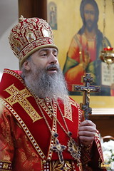 53. Paschal Prayer Service in Svyatogorsk / Пасхальный молебен в соборном храме г. Святогорска
