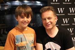 My eldest was pretty chuffed to meet Chris Packham (pete1074) Tags: architecture salfordquays lancashire booksigning salford quays waterstones thelowry chrispackham pete1074 flickrpeterjcarr flickrpete1074 petercarrphotography quarrytheatre