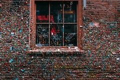 The Second Most Unhygienic Attraction in the World (thekevinchang) Tags: seattle gum washington alley post pikeplacemarket chewinggum postalley gumwall germs markettheater