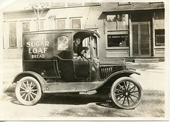 Green-Eyed Lady (david.horst.7) Tags: family sepia truck vintage historic vehicle sugarloaf ancestors 1920