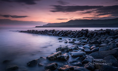 Clavell Pier (289RAW) Tags: world sunset sea seascape heritage clouds landscape coast pier site rocks long exposure filter lee dorset jurassic clavell 289raw