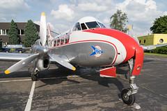 D-INKA De Havilland DH 104 Dove 18 (Disktoaster) Tags: plane airplane airport dove aircraft aviation flugzeug spotting dinka ltu spotter palnespotting pentaxk3