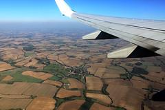 IMG_2291be (Katinka Irrlicht) Tags: flying fliegen felder fields pattern muster flugzeug airplane