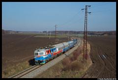 D 124 601, Velim 04-03-2016 (Henk Zwoferink) Tags: wagon 124 uic henk 601 tsjechi lohr d velim vuz zwoferink middenbohemen br123 04032016 povpedhrad