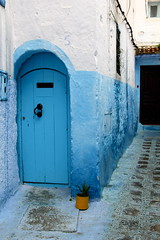 IMG_3702 (rachel_salay) Tags: city blue morocco chefchaouen