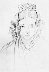 Self portrait of Queen Victoria at age 16 (1835) [424x622] #HistoryPorn #history #retro http://ift.tt/1QclOpa (Histolines) Tags: portrait history self victoria retro queen age timeline 16 1835 vinatage historyporn histolines 424x622 httpifttt1qclopa