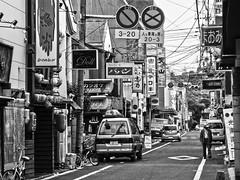 Fukko St., Saga City, Japan  (Mr. Ansonii) Tags: city bw japan lumix bars automobile restaurants panasonic  clubs nightlife saga  kyushu    fukko      sagacity sagaprefecture     dmctz3 sagashrine hostessbars chuostreet  fukkostreet