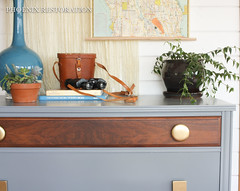 2016 0523 Gray and Gold Art Deco Full Size-10 (Phoenix Restoration   Furniture by Christina) Tags: seattle art phoenix century gold three general furniture painted traditional gray walnut drawer restoration dresser deco mid bohemian edmonds finishes