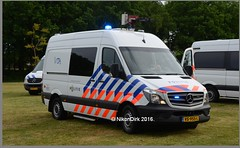 Dutch Police Sprinter VOA. (NikonDirk) Tags: netherlands dutch mercedes benz support highway foto traffic accident inspection police science safety commercial technical vehicle reconstruction limburg collision analysis investigation cdi politie forensic verkeer sprinter voa trafficpolice analyses verkeers verkeerspolitie hulpverlening nikondirk vs955l