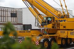 Scenic. (HivizPhotography) Tags: uk scotland lift crane outdoor aberdeen modular vehicle heavy 700 impressive ton hire nmt ballast lifting ssl terex demag 140t ac700