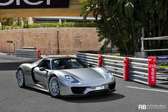 Porsche 918 Spyder (Raphal Belly Photography) Tags: paris france cars car canon de french photography eos grey gris hotel automobile riviera grigio photographie south voiture casino spyder montecarlo monaco mc belly porsche 7d carlo monte raphael luxury rb supercar spotting supercars raphal 918 principality grise principaut 98000