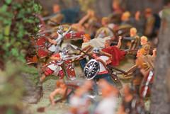 Tiny Romans vs Barbarians (quinet) Tags: panorama germany flats 2012 jouets kulmbach spielwaren castleroad burgenstrase plassenburgcastle plassenburgzinnfigurenmuseum
