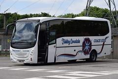 YN06 JFA (markkirk85) Tags: new bus buses mercedes benz coach touring coaches hire solihull kirkby lonsdale silverline atego jfa esker 32006 yn06 1523l yn06jfa