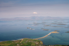 View of Bertra beach (peninsula) from Croagh Patrick (mickreynolds) Tags: croaghpatrick 2016 nx500