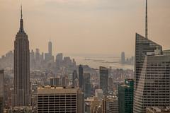 NY 7 (san_tipazos) Tags: mist ny newyork haze manhattan bankofamerica empirestatebuilding empirestate metlife topoftherock 2470mm 2470 canoneos6d