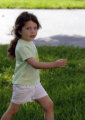 Addi going places (Babs Owens) Tags: park girl walking florida going fl davie owens allamerican