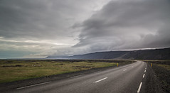 rolling into iceland ([eyewitness]) Tags: weather canoneos6d canon 6d clouds iceland inlovewithiceland travel vista roadtrip road street neverstopexploring south sky heaven bigsky getoutside outdoors nature landscape island 2016 summer icelandic roamer staycurious beauty