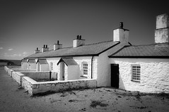 Pilot cottages (Lee~Harris) Tags: uk blackandwhite monochrome beautiful mono cottage cottages anglesey stonecottage