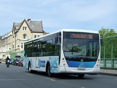 Scarborough park & ride (Hesterjenna Photography) Tags: bus volvo coach centro scarborough passenger shoppers parkandride psv eastyorkshire plaxton singledecker b7rle eyms eastyorkshiremotorservices yj58dce