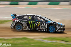 Ford Focus III RS RX (43) (Ken Block) (tbtstt) Tags: world 3 monster championship belgium round jules circuit rallycross 2016 tacheny mettet