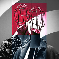 Mind Cast (Maryam Arif) Tags: perspective composition maryamarif contemporary contrast conceptual perception photography light artistic thought time reflection experience existence observation insight imagination mind cast geometry gradient graphic lines space human art angle depth fineart visualart visual glass jar levels concept color