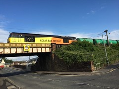 Troon - 24-06-2016 (agcthoms) Tags: scotland trains railways troon ayrshire colas class60 60095