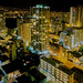 Night view of the Palolo region, Waikiki, Honolulu, Hawaii, USA
