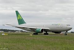Aer Lingus (Omni) 767-200(ER) N234AX (birrlad) Tags: shannon snn international airport ireland aircraft aviation airplane airplanes airline airliner airways airlines taxi taxiway takeoff departing departure runway boeing b767 b762 767 767200er 767224er n234ax omni aerlingus shamrock ei135 boston