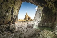 Campiecho III (Explore) (Jose Cantorna) Tags: agua nikon asturias playa rocas cueva d610 campiecho