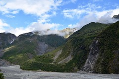 Approaching Fox Glacier