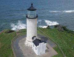 North Head Lighthouse (El Kite Pics) Tags: usa lighthouse kite washington aerial kap northhead ilwaco